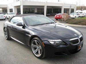 Newy York City BMW M6 Convertible Rental