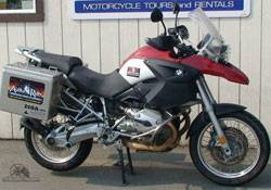 Anchorage R1200 GS BMW for Rent