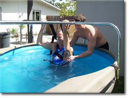 Little Rock Portable Therapy Pool Rentals