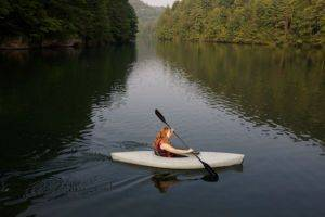 Kayak Rental being used In The Red River Gorge Area