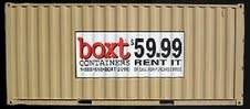 Boxt Containers - 40ft portable storage container rentals in Irvine, California