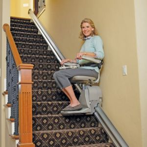 install a stair lift machine in Raleigh