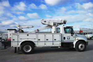Bucket Truck with 1 man Bucket