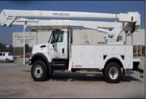 65ft Boom Truck on 4 x 4 chassis