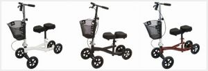 Three Colors Offered For Rental Knee Walker By Roscoe