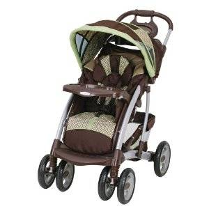 Baby stroller with 50 pound limit