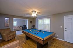Eagle Cove Ranch Game Room with Pool Table