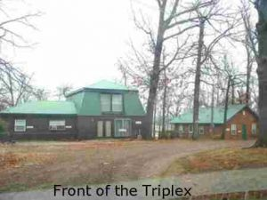 Triplex Outside