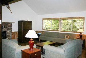 the living room area for cabin 3