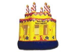 Image of Birthday Cake Inflatable