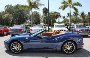 Boston Exotic Car Rentals Ferrari California For Rent
