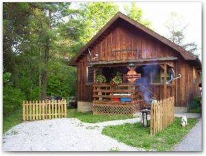 Charmant Kentucky Cabin Rental Campfire Burning For Rent Kentucky Vacations