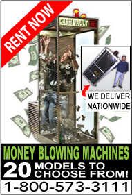 Available money blwoing macine in Panama City