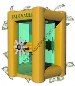 rent this inflatable money machine