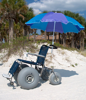 rent a beach wheelchair in charleston sc