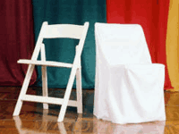 Tents For Rent Square Back Chair Covers