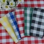Checked Table Napkins