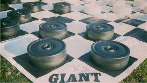 Louisville Party Rentals - Giant Checker Board Games For Rent - Kentucky Party and Event Planning