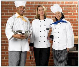 Service Linen Chef Uniforms