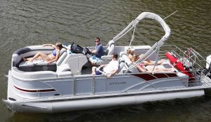 Cass Lake Deluxe Pontoon