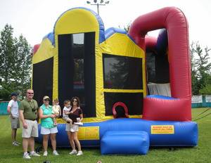Louisville Inflatable Bouncer Rentals - Clubhouse Moonwalk For Rent - Kentucky Party and Event Planning