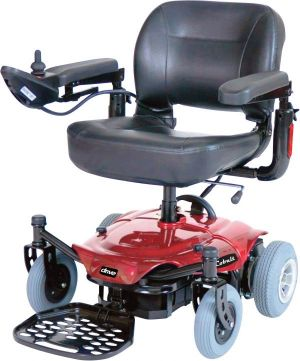 Power Chair With Flat Free Tires