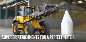 Compact Wheel Loaders with a variety of Attachments are available