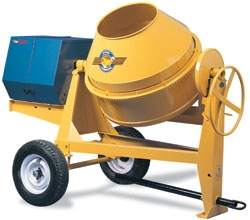 Concrete mixer in San Antonio County TX from BlueLine Rental