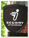 Segway of Richmands store sign
