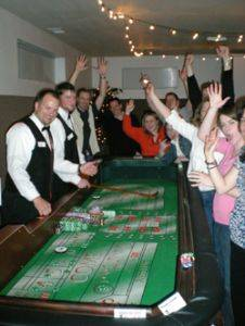 Portland Casino Games - Craps Table Rentals - Oregon Casino Party Event Planning