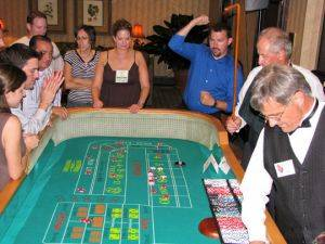 Craps Game Party Package Rentals in Houston Texas