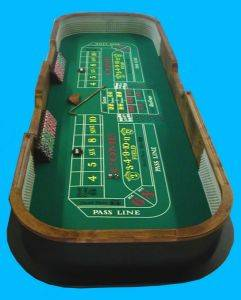 Indianapolis Craps Tables For Rent - Indiana Casino Equipment Rentals
