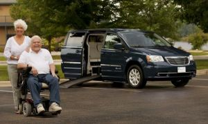Handicap Accessible Minivan