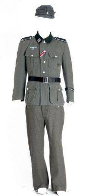 German Military Officer Costume Rentals