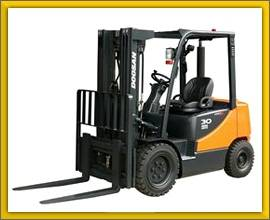 Los Angeles Forklift Rental in California