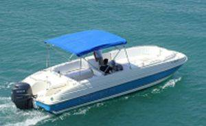 Key Largo Boat Rentals-26ft Deck Boat For Rent-Florida Boat Rental