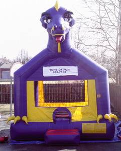 Louisville Inflatable Bouncer Rentals - Dinosaur Moonwalk For Rent - Kentucky Party and Event Planning