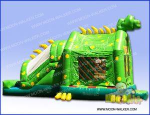 Louisville Inflatable Rentals - Green Dino Bouncer - Kentucky Party & Event Equipment For Rent