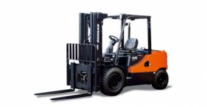 Warehouse Forklift Rental Made by Doosan with 10k lift capacity
