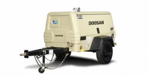 P135 WIR T Air Compressor manufactured by Doosan