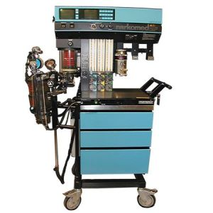 Aneshtesia Machine With Cabinets And Wheels