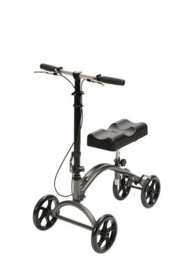 Knee Walker With 8 Inch Casters