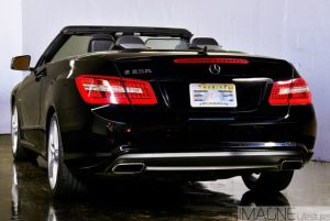 Back Of The Mercedes E550 Exotic Car