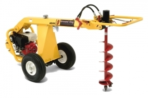 Earth Auger Rental In Tulsa Ok Rent Gas Powered Post