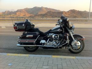 Black Harley Davidson For Rent