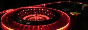 Lighted Roulette Table For Rent in Texas