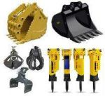 Local Hydraulic Excavator Attachments For Rent
