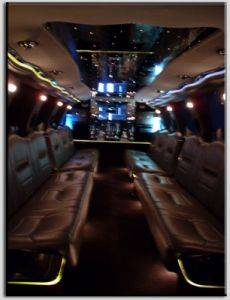 Excursion Limousine Rental Interior
