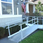 Modular Ramps With Hand Rails