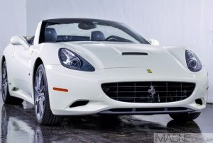 Image Of A Ferrari California Rental